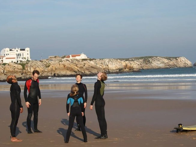 8 Days Surf Camp in Baleal Island, Peniche, Portugal