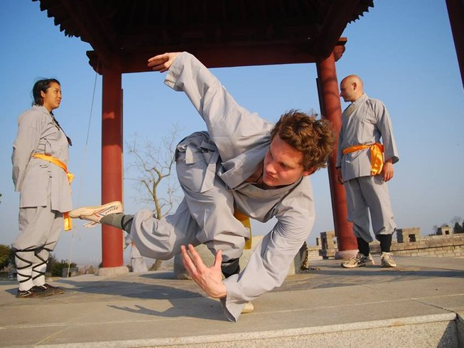 14 Days Kung Fu Training in China for Foreigners
