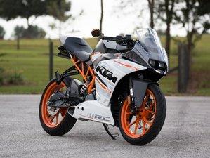 Motorcycle: KTM