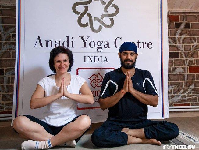28 jours-200h de formation de professeur d'hatha yoga à Rishikesh, Inde