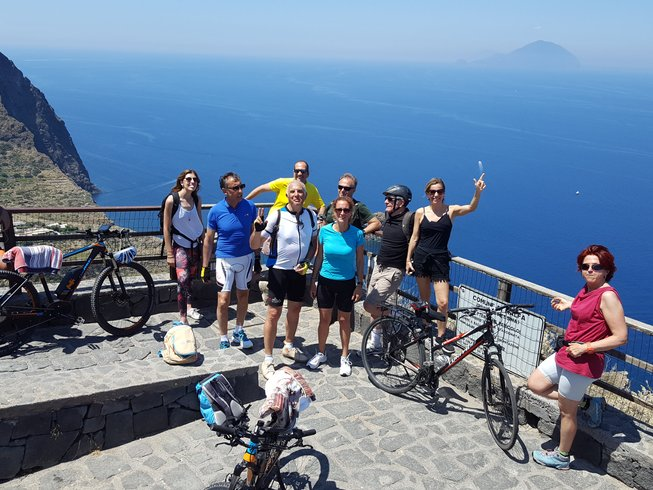 3 Days Bike and Wine Culinary Vacation in the Aeolian Islands, Italy