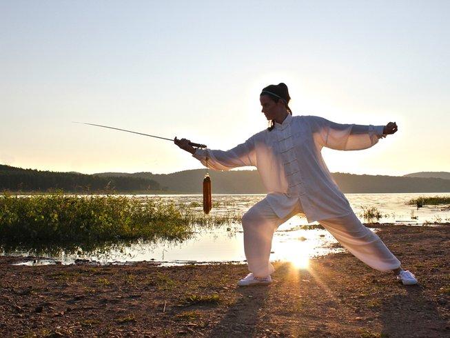 4 Months Kung Fu, Tai Chi, and Sanda in China