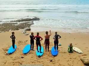 8 Days Intensive Yoga and Surf Experience in Progress in Portugal