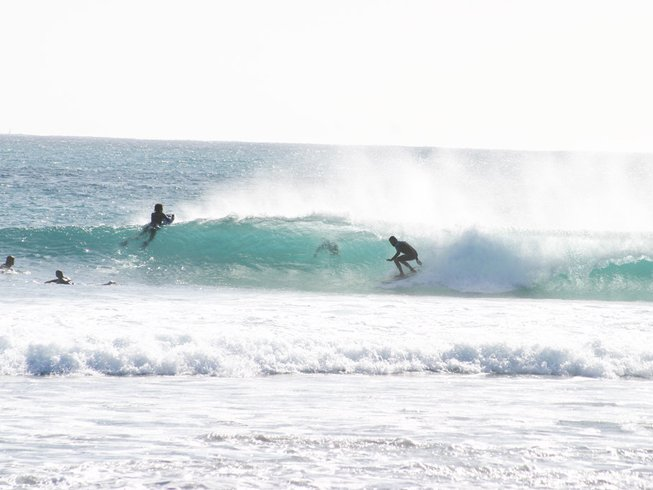 8 Days All levels  LINE UP  Surf Camp in Corralejo, Spain