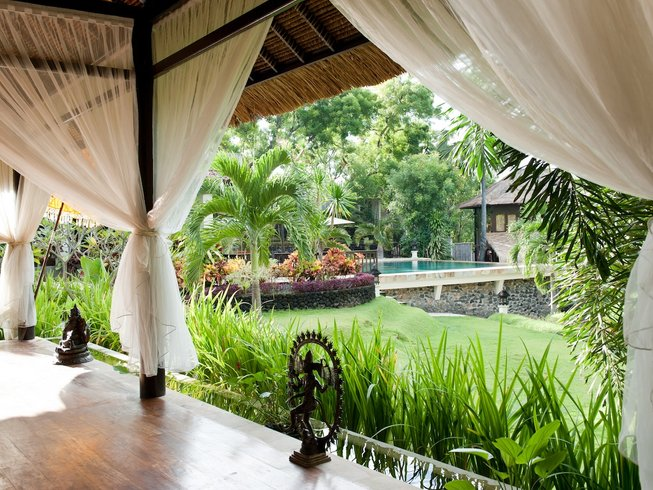 4 Days Nurturing Detox and Yoga Holiday in Peaceful Rural Bali