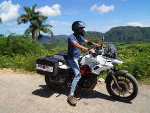 9 Day Guided Enduro Motorcycle Tour in Western Cuba