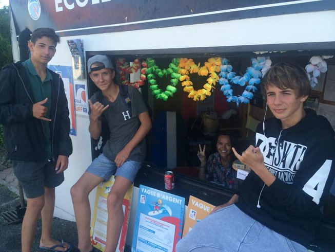 6 Days Adult Surf Camp in Guethary, France