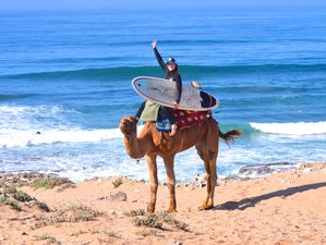 4 Day Beginner and Intermediate Surf Camp in Tamraght, Agadir