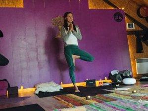 8 jours en stage de yoga et jeûne en cascade à Mortagne, Vosges