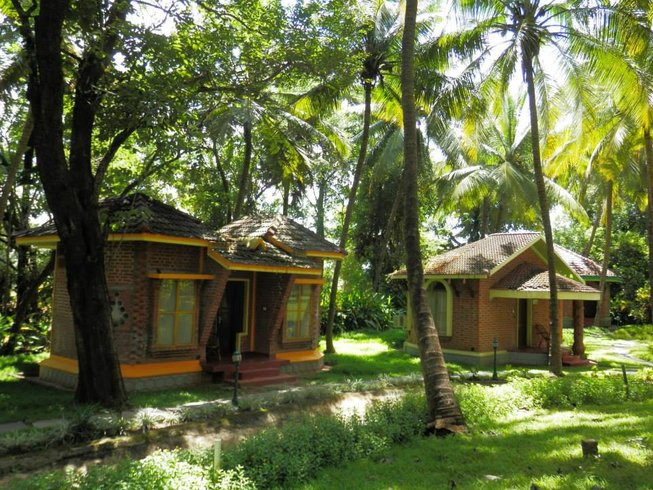 11 Days Deluxe Yoga & Ayurveda Retreat in Kerala, India