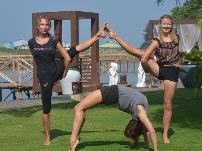 8 Days Yoga Holidays in Goa, India