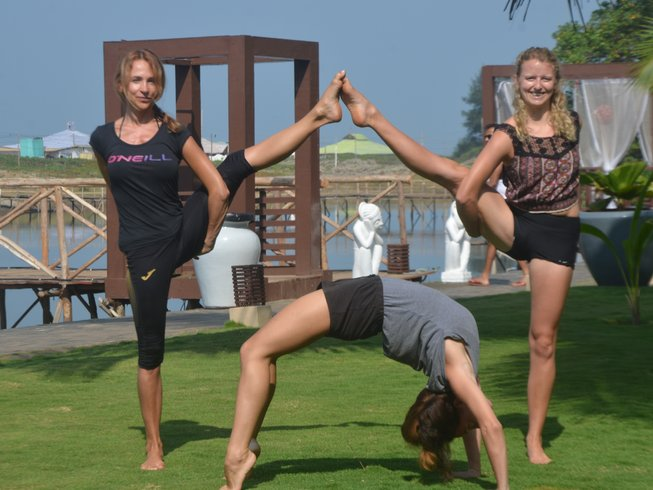 Oceanic Yoga Mandrem Beach Goa