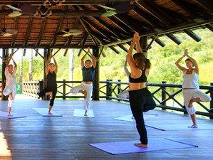 7 Tage Gewichtsverlust und Yoga in Spanien