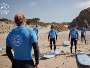 8 Day Surf Holiday with The Surf Professional Academy in The Beautiful Cascais, Lisbon