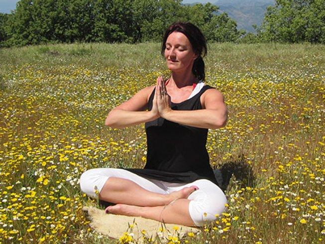 10 jours en stage de yoga, méditation et alimentation crue vibrante en Andalousie, Espagne