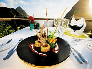 4 Days of Ladera Cooking Getaways in St Lucia