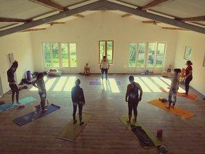 5 jours en séjour de yoga et méditation avec espace de coworking dans la nature en Provence