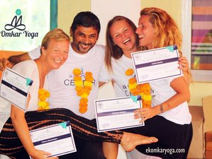26-Daagse 200-urige Yoga Docententraining in Goa, India