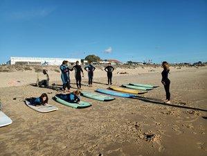 3 días de campamento de surf de emprendedores, con yoga y meditación en El palmar, Cádiz
