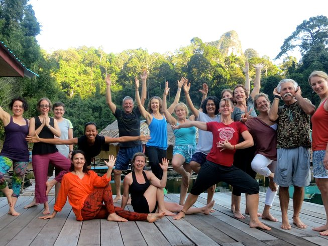 7 Days Jungle Therapeutic Yoga Retreat in Thailand