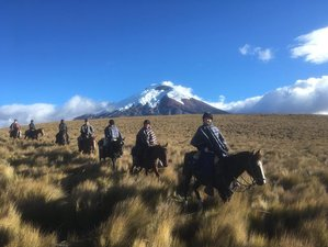 9 Day Volcano Horse Riding Adventure in Quilotoa
