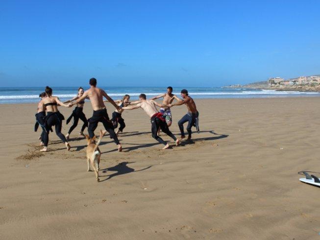 8 Days Beachfront Surf School Taghazout, Morocco