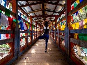 11 jours en stage de yoga et culture au Bhoutan