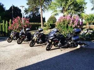 8 Day Self-Guided Motorcycle Tour through beautiful South West France