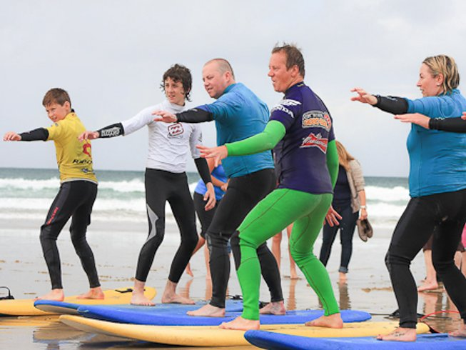 4 Days Fun and Effective Surf Camp UK