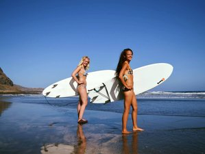 8 Day Surf Camp with 5 Day Intensive Beginners Surf Course on Gran Canaria