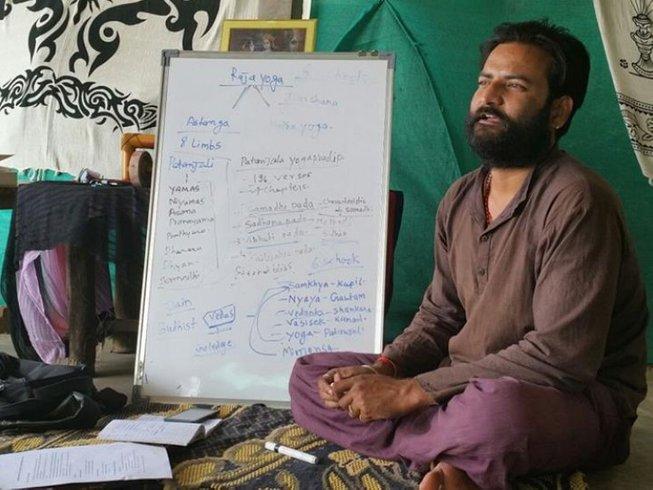7 jours en stage de yoga et méditation à Pushkar, Inde