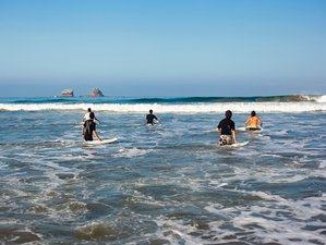 8 Days Basic Surf Camp in Ayampe, Ecuador