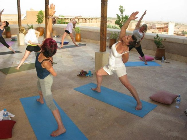 5 Days Yin Yang Yoga Retreat in Marrakech, Morocco