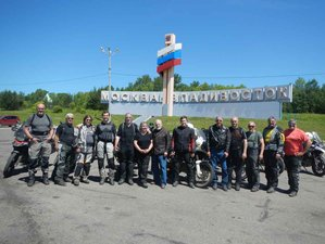 25 Day Moscow to Vladivostok Guided Challenging Trans-Siberian Motorcycle Tour in Russia