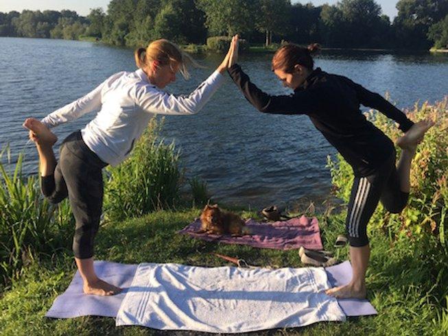 3 jours en stage de yoga, méditation et aliments crus à Amsterdam