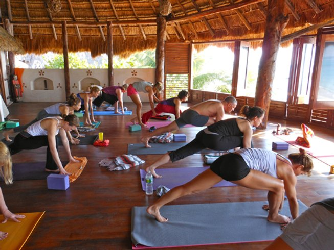 7 Days Meditation and Beach Yoga Retreat in Tulum, Mexico