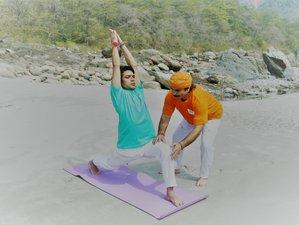31 Tage 300-Stunden Yogalehrer Ausbildung in Rishikesh, Indien