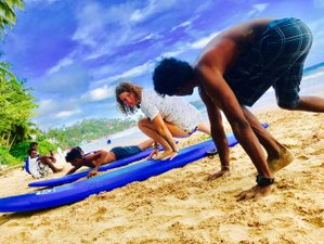 8 Day Beginner Surf Camp in Mirissa, Southern Province