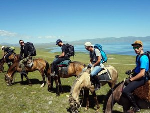 7 Days Real Nomads Horse Riding Holiday near Son-Kul Lake in Naryn Region, Kyrgyzstan