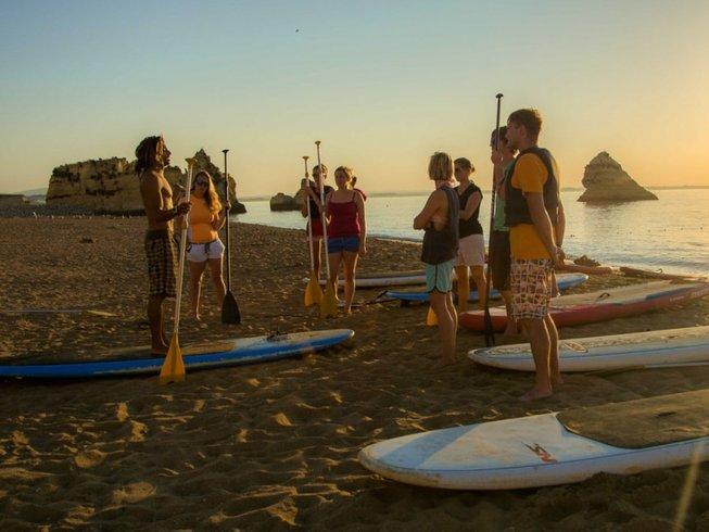 8 Days SUP Camp in Sargacal, Lagos, Portugal