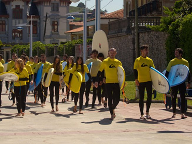 7 Days Surf Camp for Adults in Ribadesella