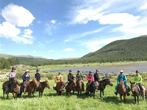 9 Day Horse Trekking and Exploration in Central Mongolia