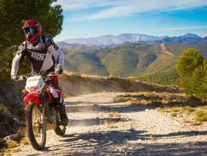 8 Day Guided Enduro Motorcycle Tour in Granada, Andalusia