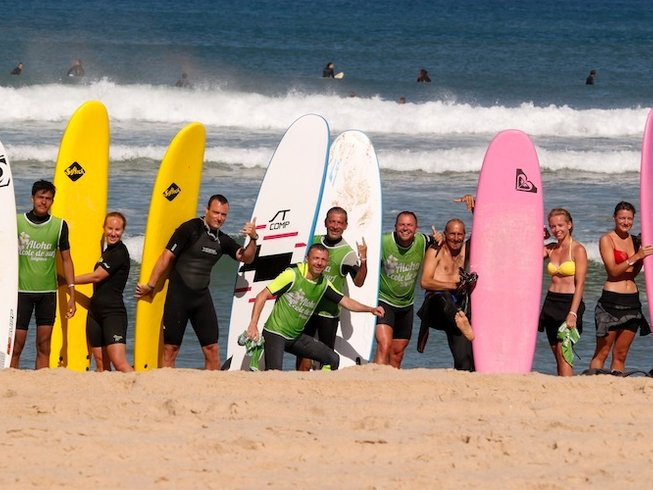 3 Days Short Surf Camp in Aquitaine, France