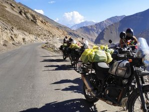 10 Day Guided Motorcycle Tour in Spiti Valley, India on Royal Enfield