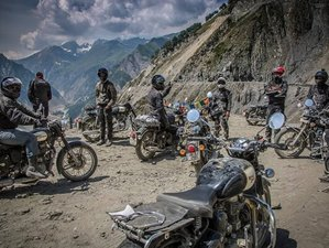 15 Days Real Himalayan Motorcycle Tour in India