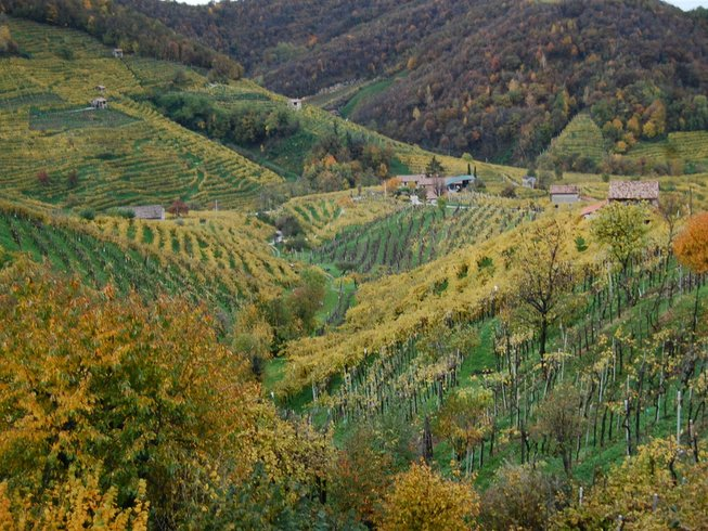 7 Days Prosecco Wine Tasting and Cooking Holidays Italy