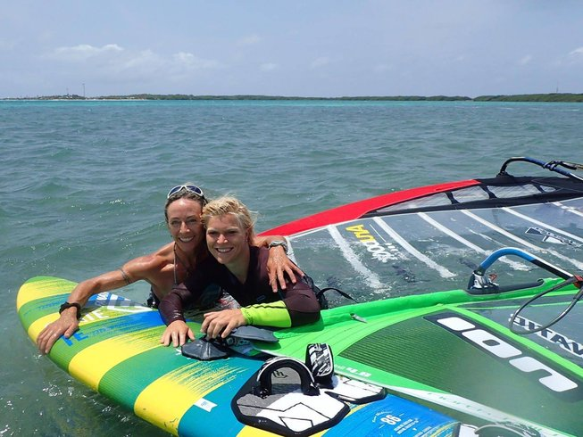 5 Days Windsurf Camp and Yoga Retreat in Bonaire