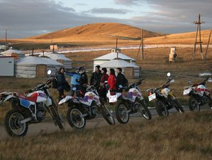 10 Days Guided Mongolia Motorcycle Tour