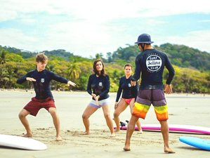 8 Day Surf Lessons Package in Santa Teresa South